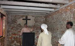 Inside of an Original Slave Cabin