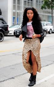 Angela Simmons  Graphic Tshirt Celebrity Style Women's Fashion (2)