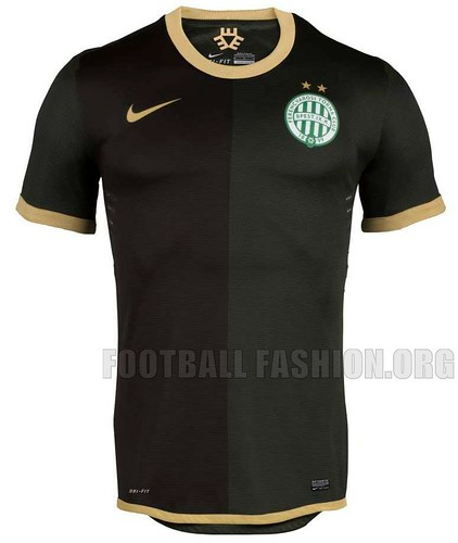 Ferencváros TC Nike 2012/13 Away Football Kit / Soccer Jersey