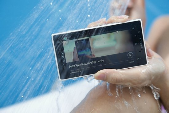 Hot Chinese Bikini Girls vs. Sony Xperia acro S Inside the Pool (Video)