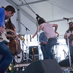 Opening the Harbor stage on Saturday. Photo by Laura Fedele
