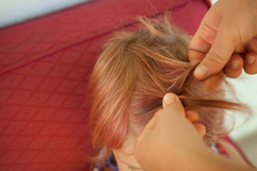 Toddler Front Braid