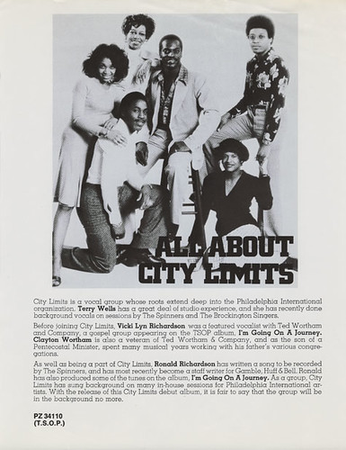 city limits ad flyer
