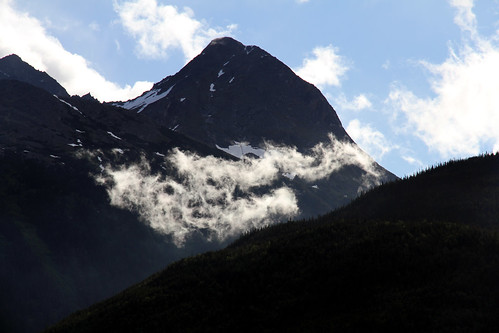 Skagway - Clouds and Mountains