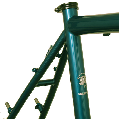 <p>Grand Tour seat cluster, painted Teal.</p>