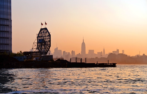 Hudson River sunrise by Alida's Photos