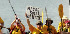Maybe solar was better