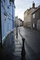 A narrow road in Durham