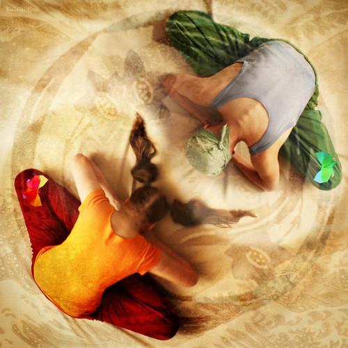 Inspiring Asanas. Yin-Yang Aspect of Butterfly Dreams