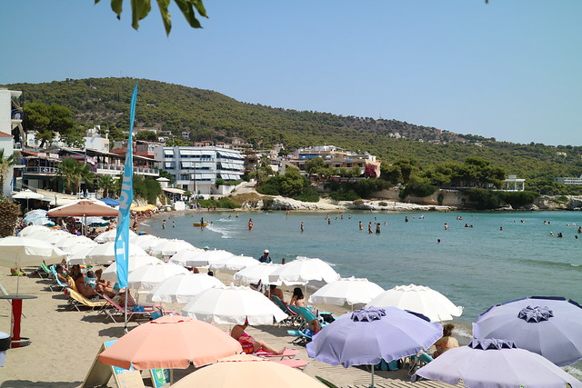 Beach at Agia Marina
