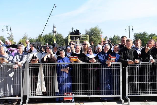 Sanktuarium św. Jana Pawła II, 30 VII 2016