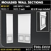 Tool Shed - Moulded Wall Sections Mesh Kit Ad