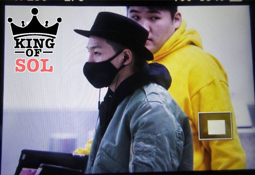 Big Bang - Gimpo Airport - 27feb2015 - Tae Yang - KINGOF_SOL - 01