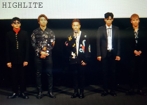 Big Bang - Movie Talk Event - 28jun2016 - High Lite - 08