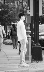 Man on M Street