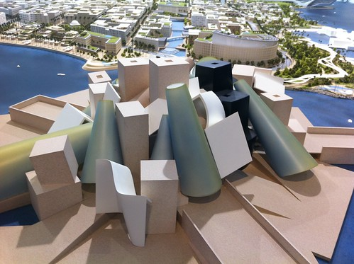 Guggenheim Abu Dhabi in 2012 Cityscape.