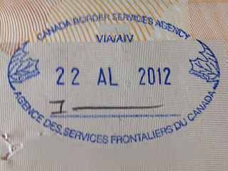 Immigrant Stamp