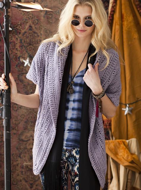 Crochet Cardi Shawl