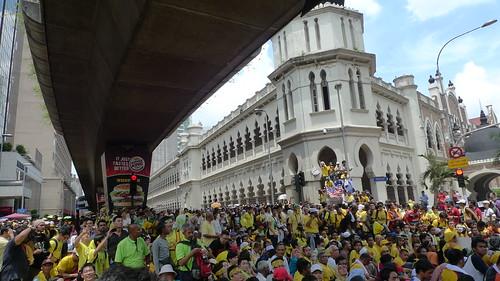 Bersih 3.0 at Jalan Raja