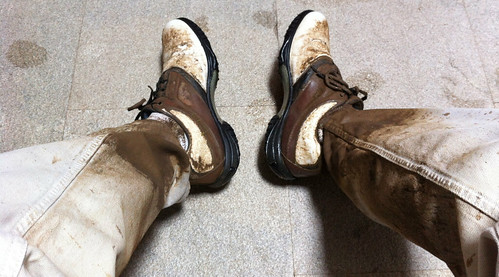 Playing Golf in the Mud