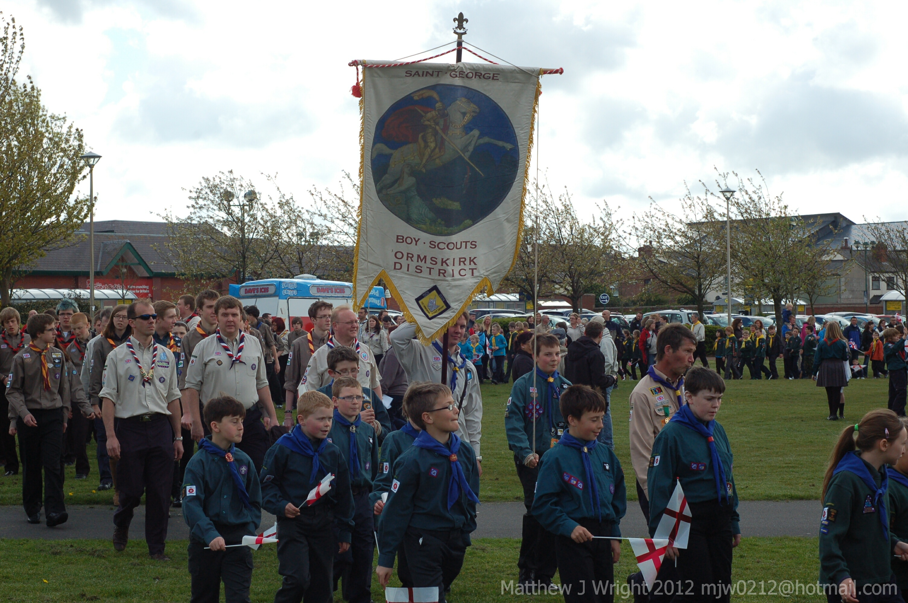 Ormskirk Scouts St Georges Day