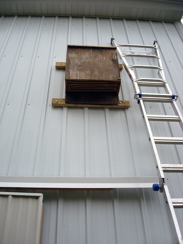 Bat Box on the Barn