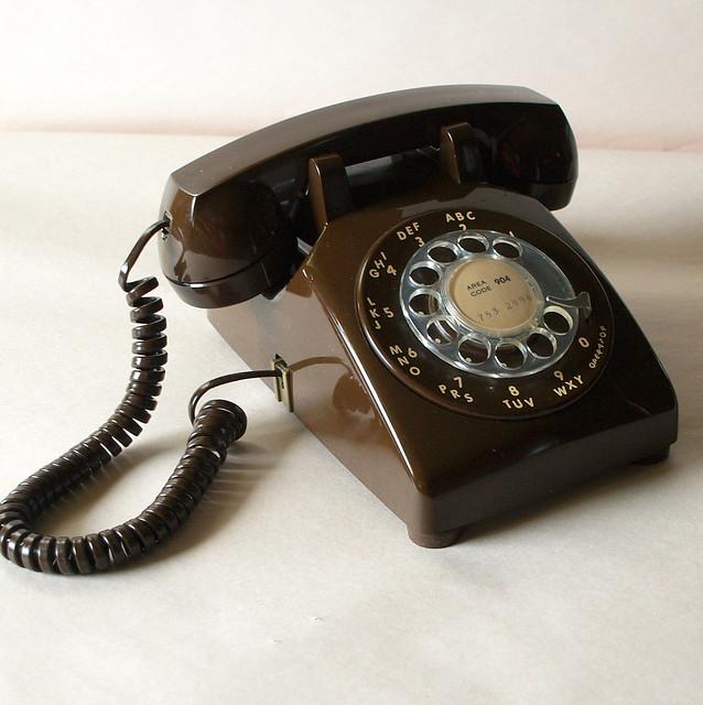 Vintage Office Phone 42