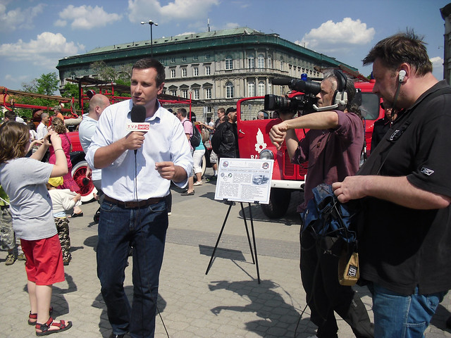 Bomberos en Warsaw