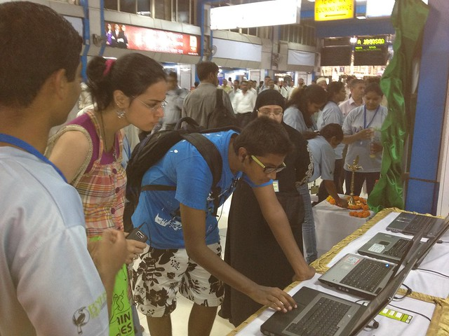 World Environment Day Exhibition at Churchgate Station