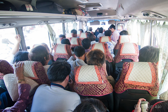 A local bus packed like Sardine