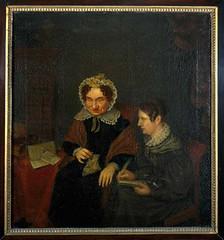<p>Portret van Petronella Moens (1762-1843) en Antonia Elisabeth Camphuis (1807/1808-1842). Margaretha Cornelia Boellaard. Coll. Centraal Museum</p>