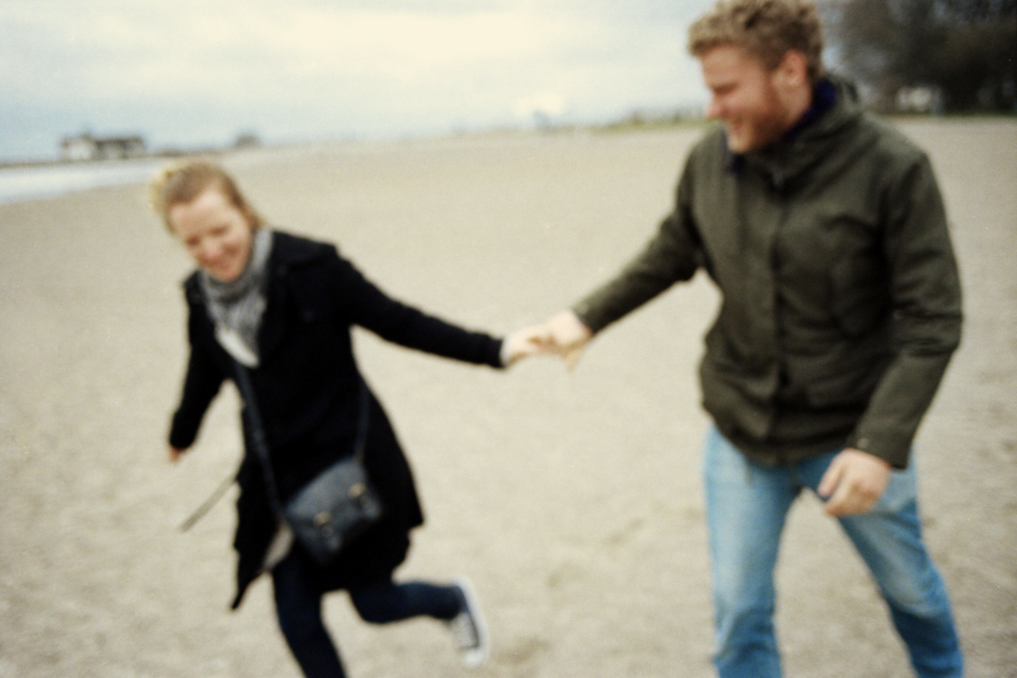 Le Love Blog Couple Running On The Beach I Survived Found New Love Two by Esben Bøg Jensen, on Flickr