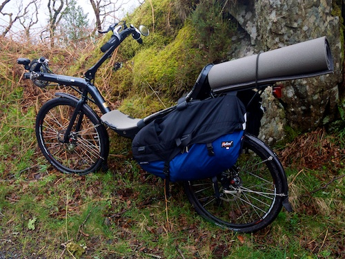 Radical Banana Bag recumbent review