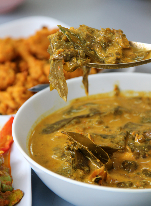 Gaeng Kee Lek (Kassod Leaf Curry) แกงขี้เหล็ก