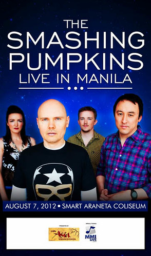 Smashing Pumpkins Manila Concert