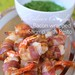 Bacon wrapped Shrimp with Pesto
