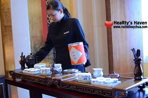 Li Li Hyatt Gongfu cha Ceremony