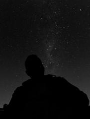 Self portrait with stars 2