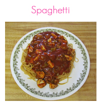 MEAL ICON spaghetti