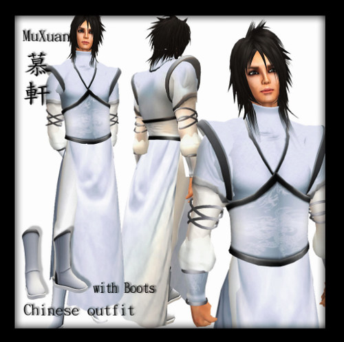 (Charming) Chinese Outfit - MuXian (Male)