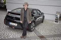 Reinhold Messner mit dem Ampera