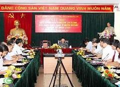 Trưởng Ban Tuyên giáo Đinh Thế Huynh gặp mặt các Trưởng cơ quan đại diện Việt Nam ở nước ngoài