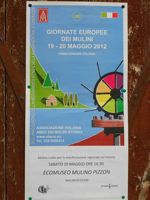 giornata europea dei mulini - locandina