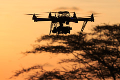 Flying the Autodesk Octo-Copter in a very very very remote region of East Africa.
