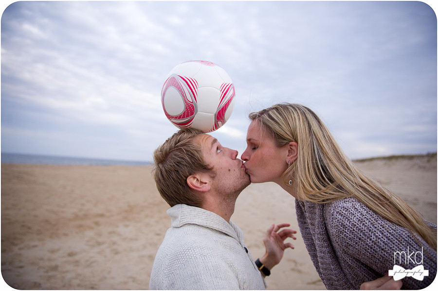 Soccer playing engagement session