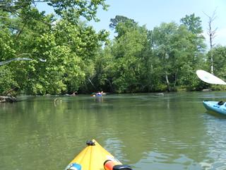 Broad River Paddling May 26, 2012 4-35 PM