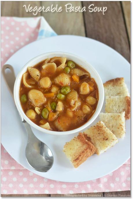 Vegetable Pasta Soup Recipe