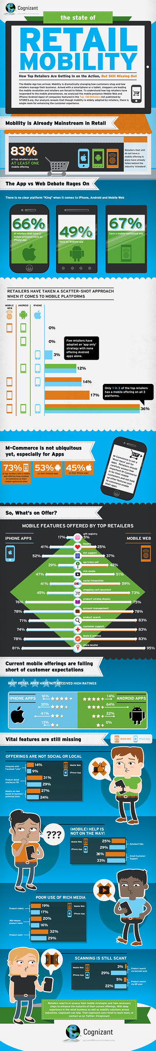 Mobility in Retail - An Infographic