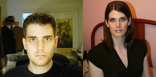 Unknown Before and After by M2F Transformations