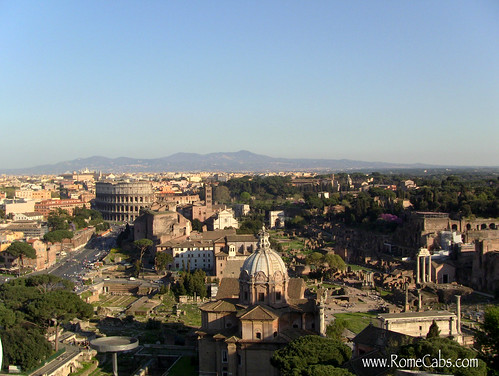 Colosseum and Roman Forum (Panoranic Views)